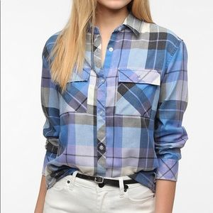 Urban Outfitters- bycorpus flannel
